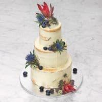 TALA ROUND SILVER CAKE DRUM 10